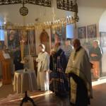 Бденије у цркви Лазарици уочи Успења Пресвете Богородице