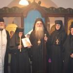 Празнична вечерња служба и монашење у манастиру Велуће код Трстеника