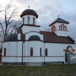 Света Литургија у манастиру светог Илије код Велике Дренове