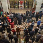Бадњи дан и Бадње вече у Саборном храму у Крушевцу