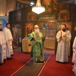 Света Архијерејска Литургија у Макрешану