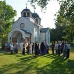Света Архијерејска Литургија у Мoдрици код Крушевца