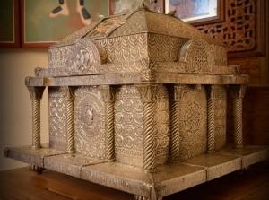 Deo mostiju Sv. Kneza Lazara u crkvi Lazarici