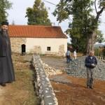 Обнова цркве светих апостола Петра и Павла у Кривој Реци код Бруса