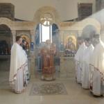 Света Архијерејска Литургија у Брусу