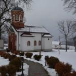 Владика Давид на Сретење богослужио у селу Здравиње код Крушевца