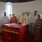 Света Архијерејска Литургија у Пољни код Трстеника