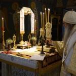 Света Архијерејска Литургија у манастиру Лешје на Васкршњи четвртак