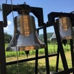 Владика Давид освештао нова звонâ у манастиру Наупаре код Крушевца