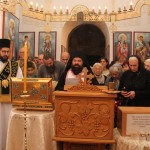 У цркви Лазарици дочекане мошти светих ростовско-јарославских светитељâ