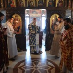 Архијерејска Литургија у цркви светог Јована Крститеља на Багдали