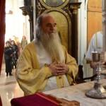 Света архијерејска Литургија у Саборној цркви у Крушевцу на дан светог апостола Матеја
