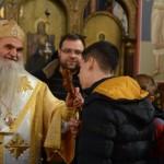 Празник св. апостола Андреја Првозваног свечано прослављен у Саборном храму у Крушевцу