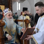 Света архијерeјска Литургија у манастиру светог Луке у Бошњану