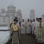Света архијерејска Литургија у Дедини код Крушевца