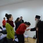 """Епископ  Давид посетио удружење """"Моја рода"""" у Крушевцу"""