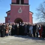 Света архијерејска Литургија у селу Падеж код Крушевца