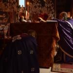 Литургија Пређеосвећених Дарова у Покровској цркви у Крушевцу