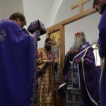 Света Литургија Пређеосвећених Дарова у манастиру светог Илије у Великој Дренови