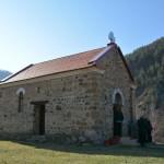 Света архијерејска Литургија у селу Влајковци код Бруса