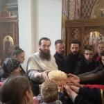 Васкршња радост у храму Христовог Васкрсења на Новом гробљу у Крушевцу