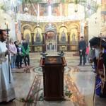 Навече Празника Цвети и Врбица Саборној цркви у Крушевцу