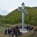 Освећење Крста у Брзећу на Копаонику