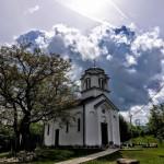 Света Литургија у селу Блажеву на Копаонику