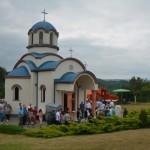 Прослављена храмовна слава у селу Текије код Крушевца