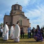 Света архијерејска Литургија у Ратају на дан прославе светих апостола Петра и Павла